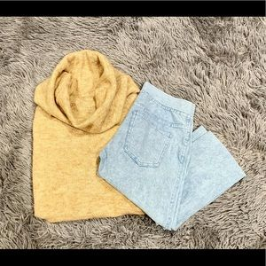 Pants - Baby Blue Jean Legging